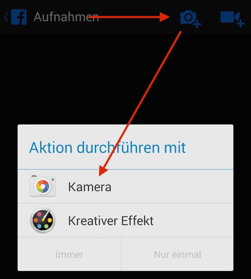 Android Standard-App festlegen (Bild: Screenshot Android).