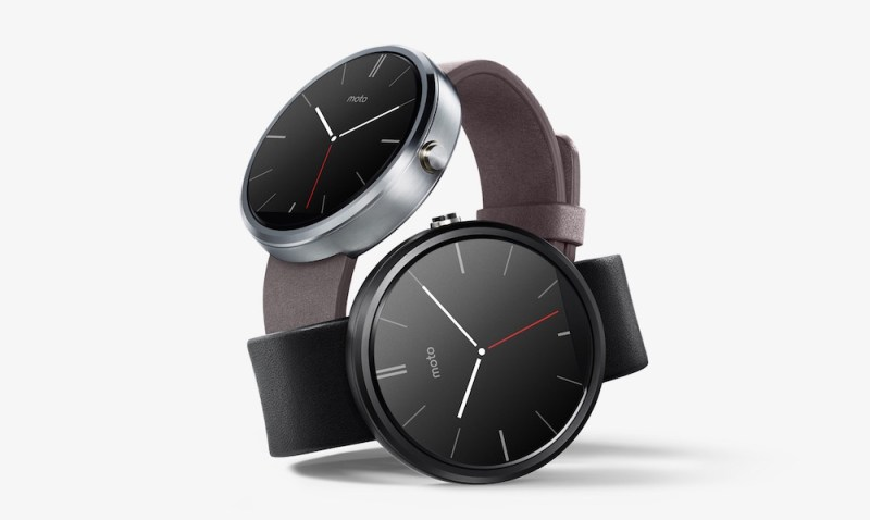 Motorola Moto 360 Smartwatch (Bild: Google Play Store).