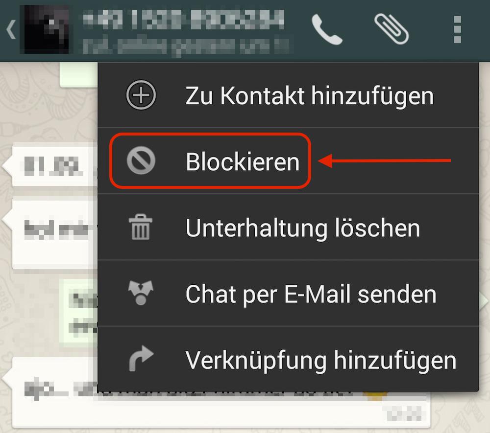 Blockiert In Whatsapp