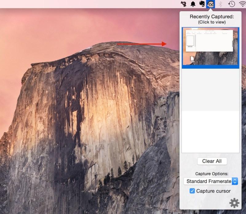 Mit GifGrabber Gif-Dateien unter OS X erstellen (Bild: Screenshot OS X).
