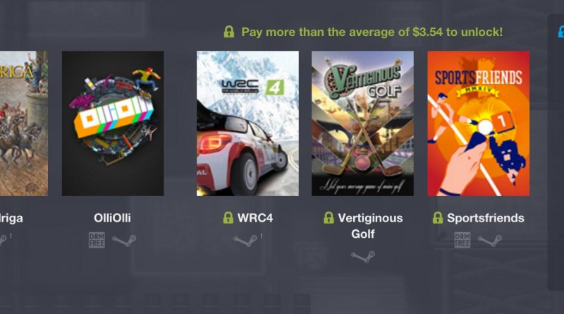 Humble Weekly Bundle Sports