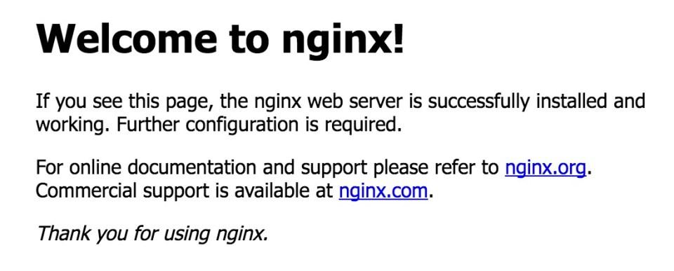 Nginx auf dem Raspberry Pi
