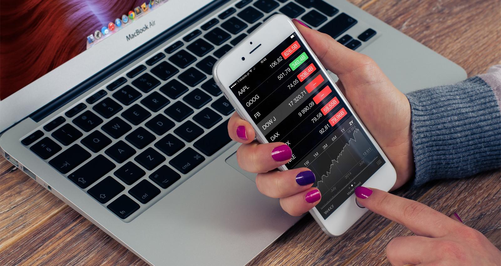 Finanzen über das Smartphone steuern