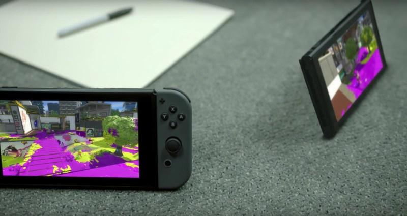 Nintendo Switch Konsole im Multiplayer