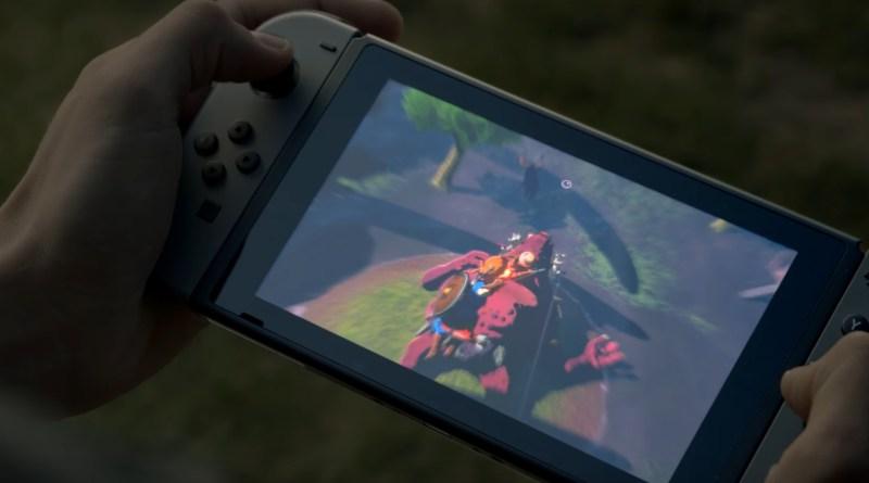 Nintendo Switch - Legend of Zelda - Breath of the Wild