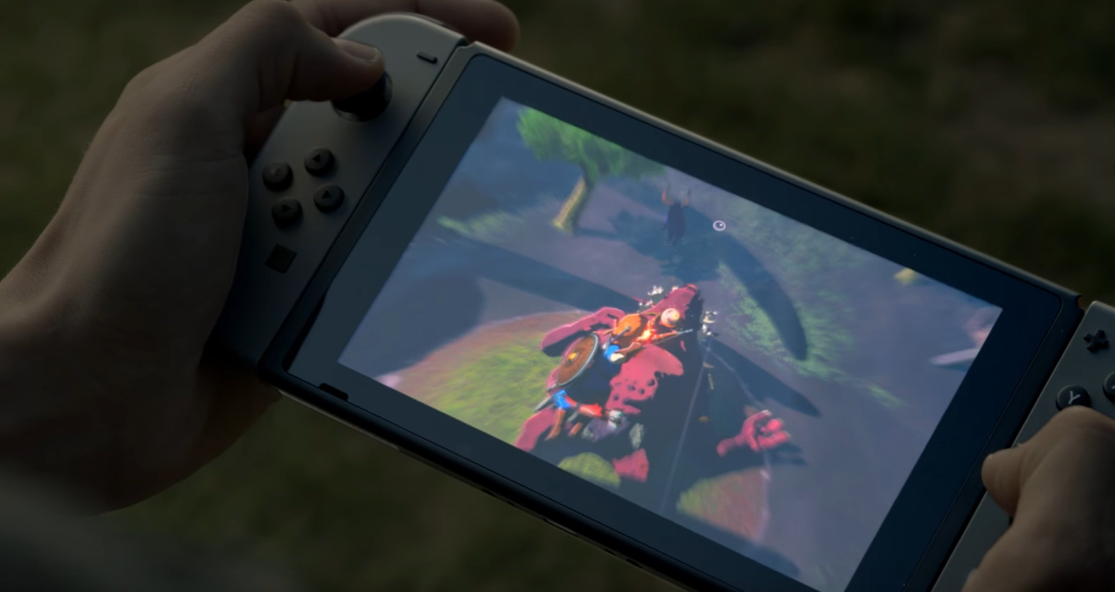 Nintendo Switch - Legend of Zelda - Breath of the Wild