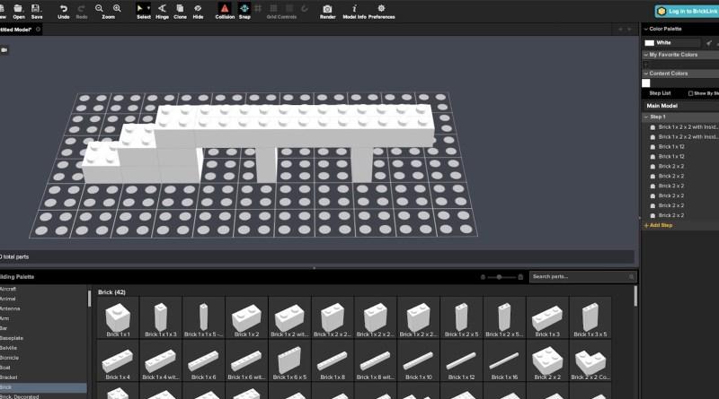 Stud.io LEGO CAD Software