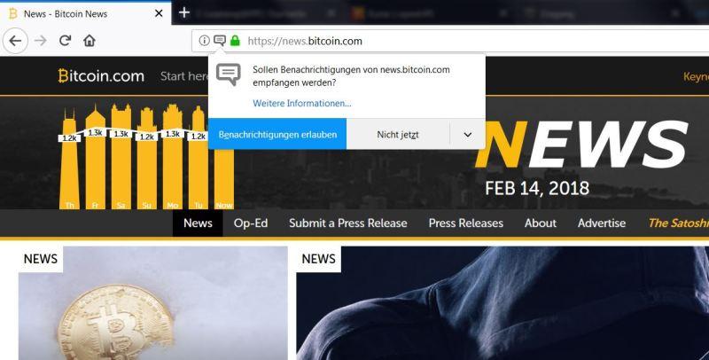 Firefox Benachrichtigungen ausschalten