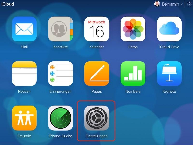 iCloud Drive Daten wiederherstellen
