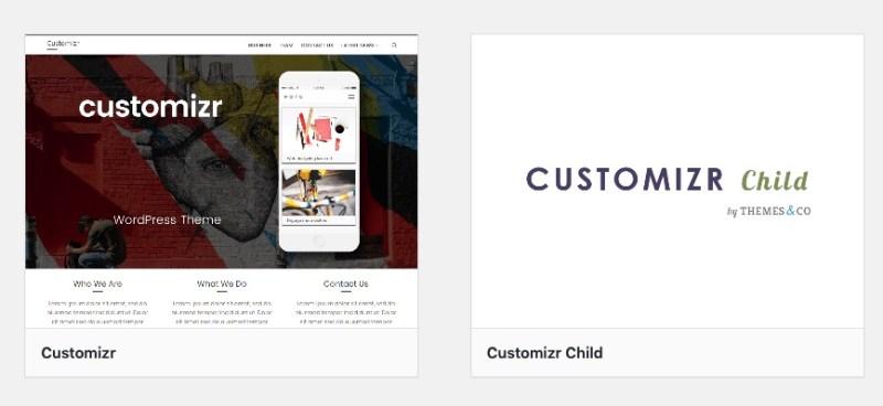 Child Theme für WordPress aktivieren