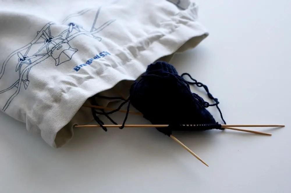 Saco de Cordão – Saco para projeto de tricot