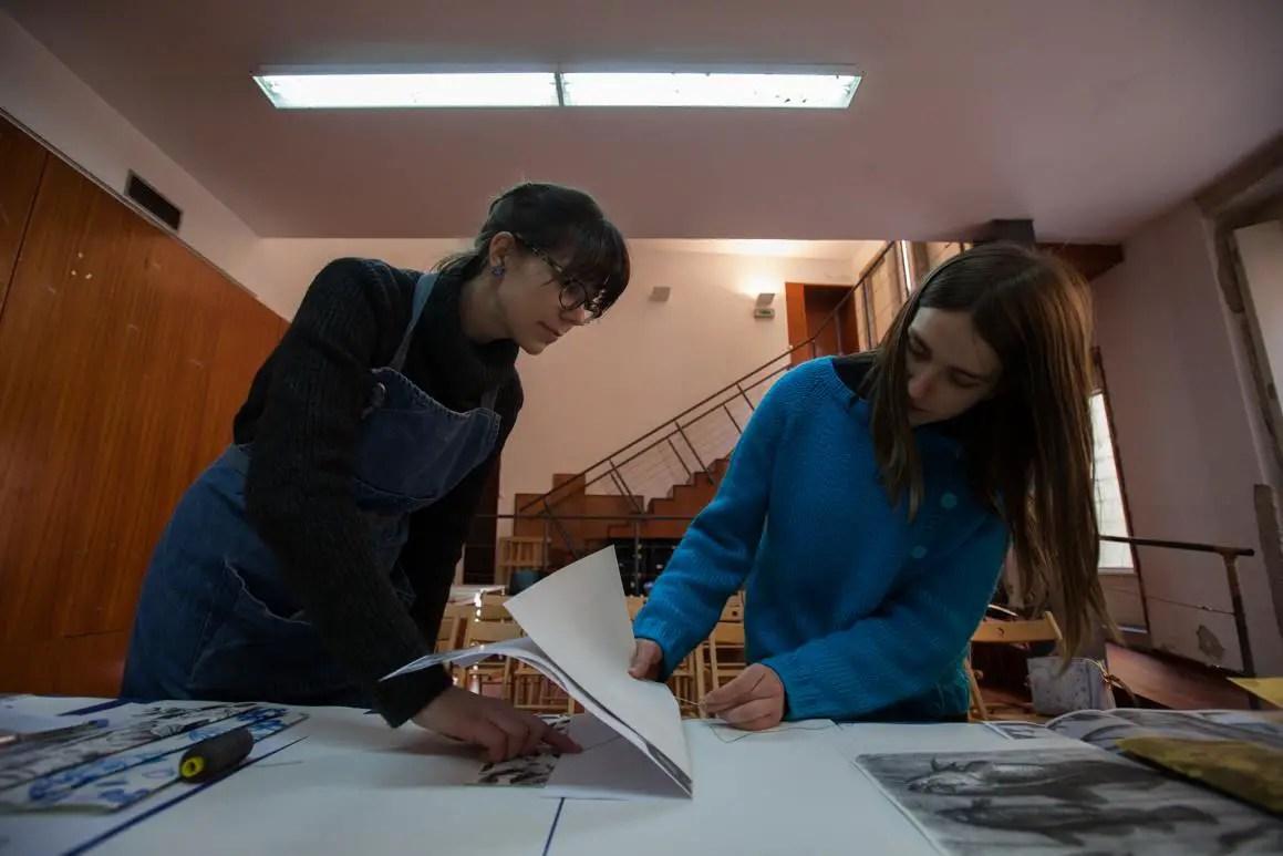 Workshop ilustração - eu e a professora