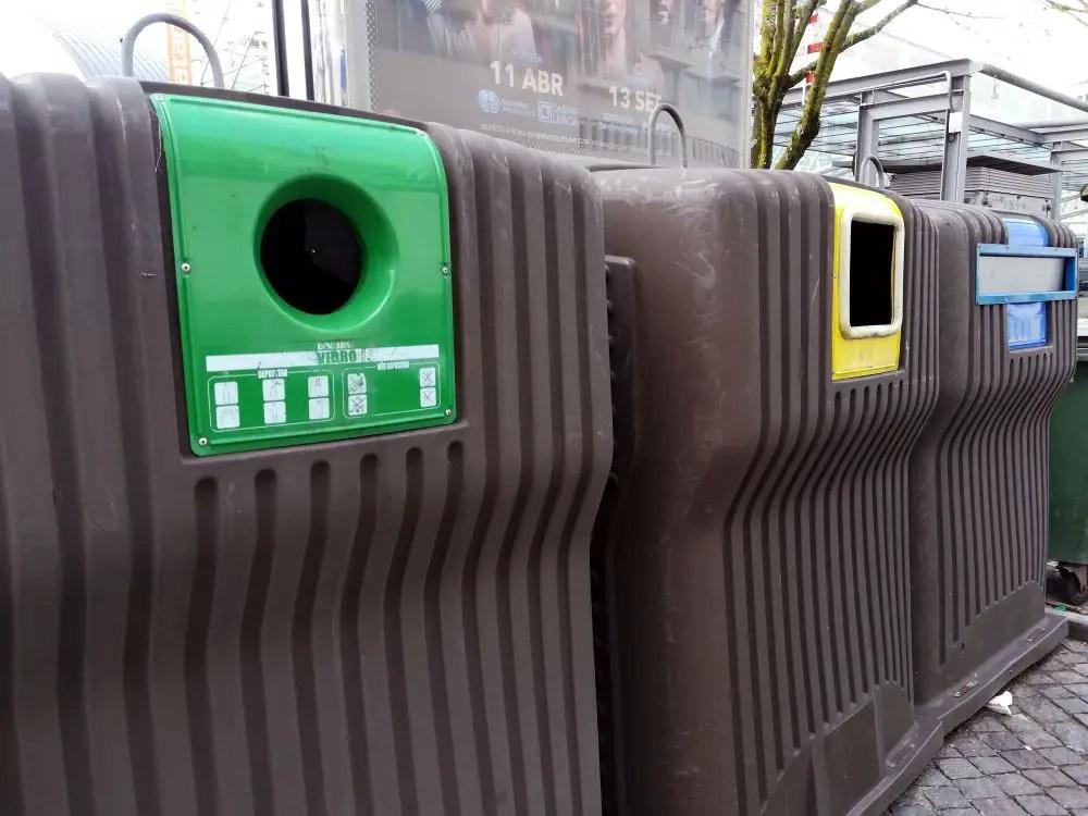 Reciclar num apartamento pequeno