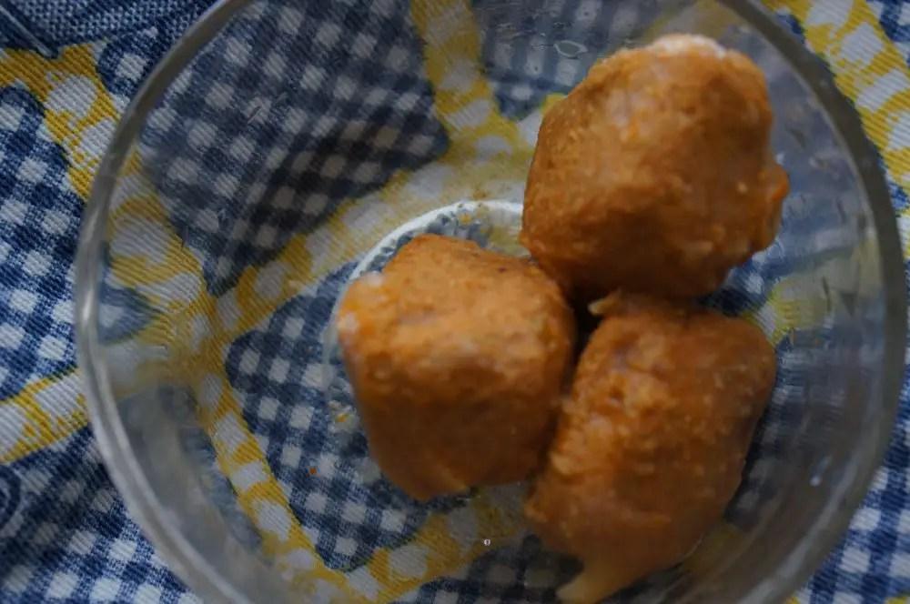 frozen curry cubes