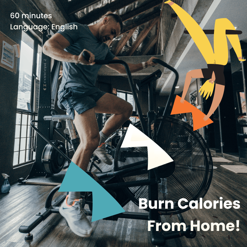 burn calories from home