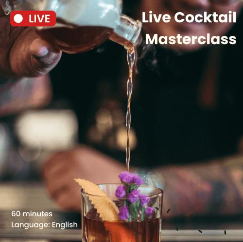 live cocktail masterclass