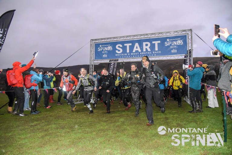 2020 The Spine Race - John Kelly