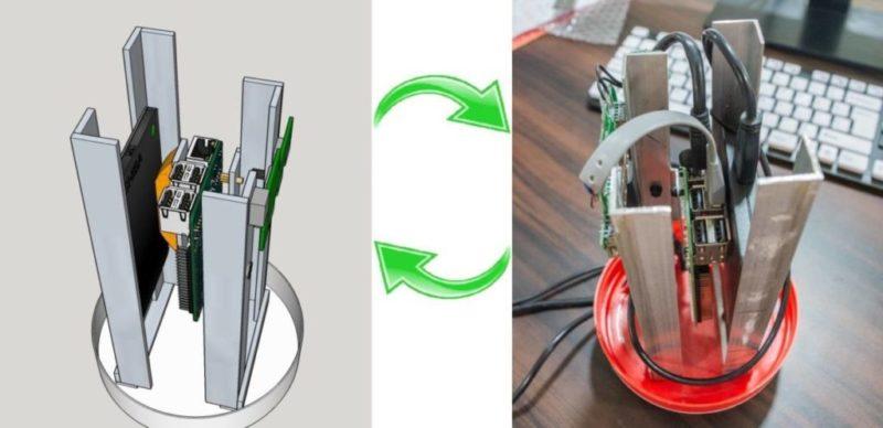 DIY Enclosure for Raspberry PI based NAS and Media Server