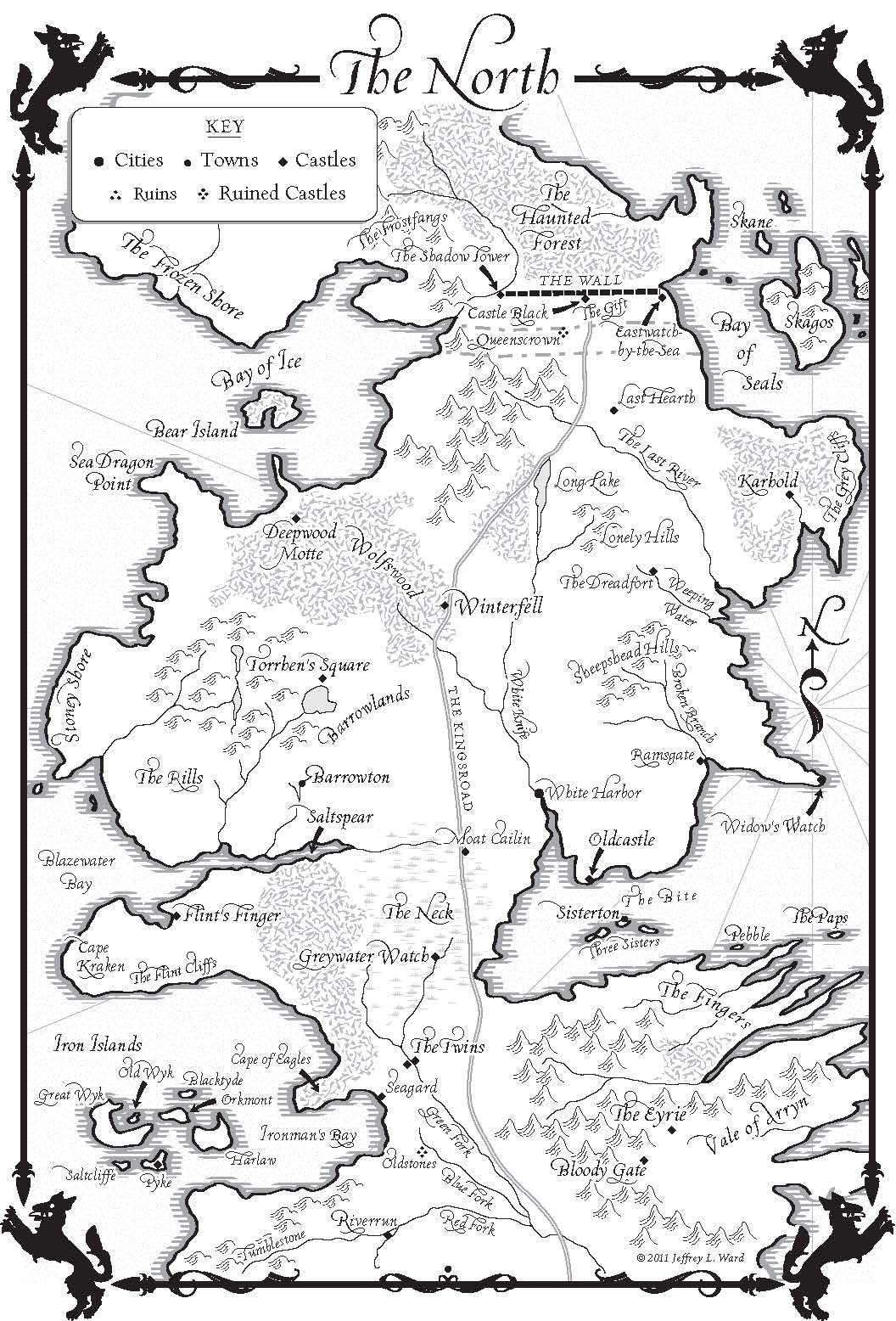 A Game Of Thrones Maps