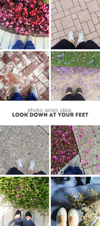 Photo Series Idea: Look at Your Feet   randomolive.com