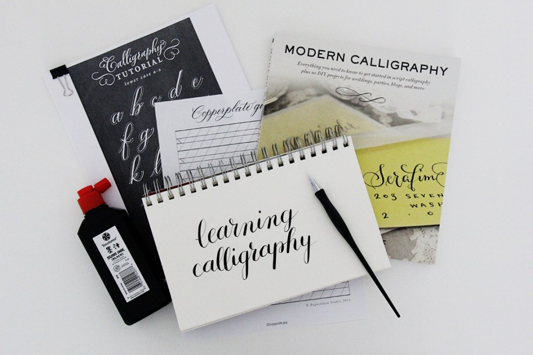 Resources for Learning Pointed Pen Calligraphy - www.randomolive.com