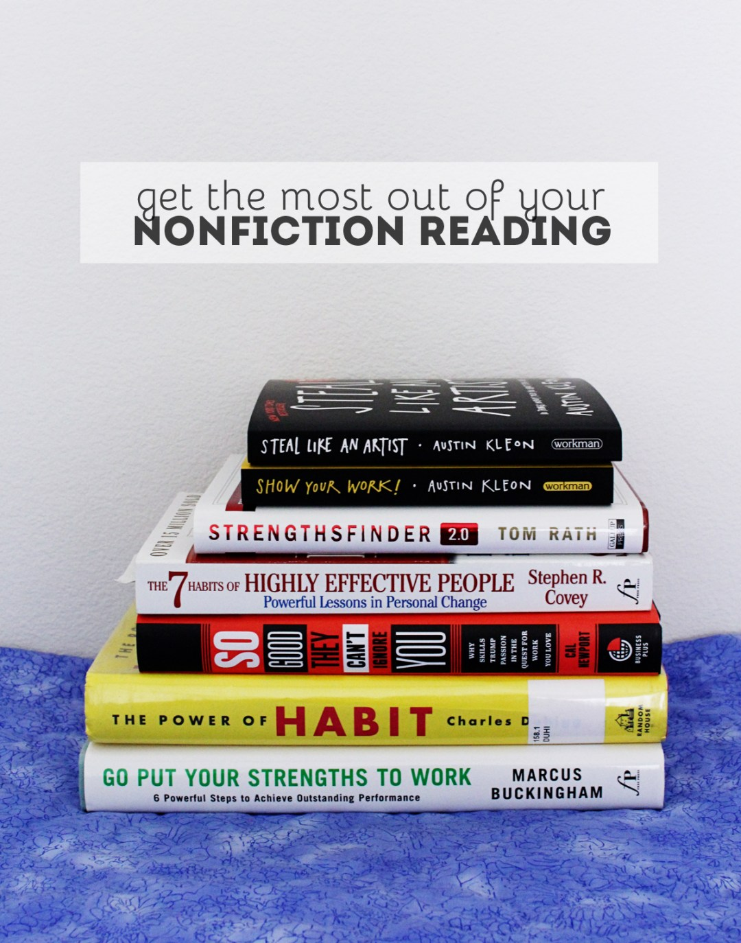 Strategies for Getting the Most Out of Nonfiction Books - www.randomolive.com