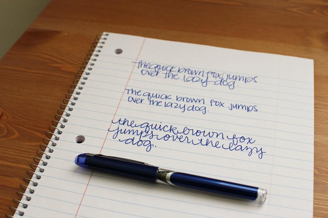 Show Your Script: Handwriting Blog Tag - www.randomolive.com