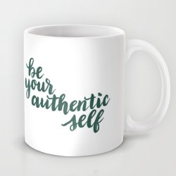 Be Your Self Mugs - www.randomolive.com
