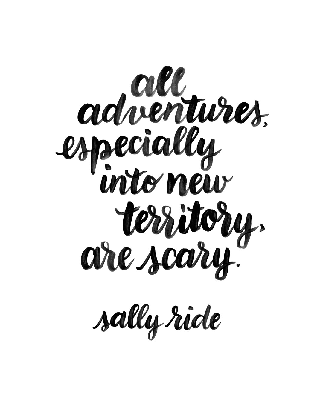 Sally Ride Quote - www.randomolive.com