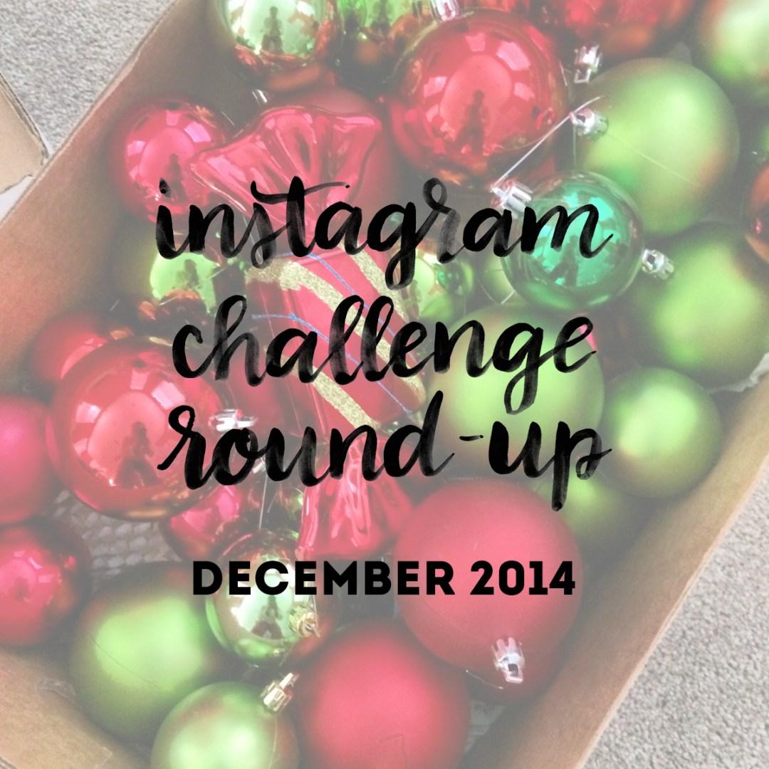 Instagram Challenge Round-Up - www.randomolive.com