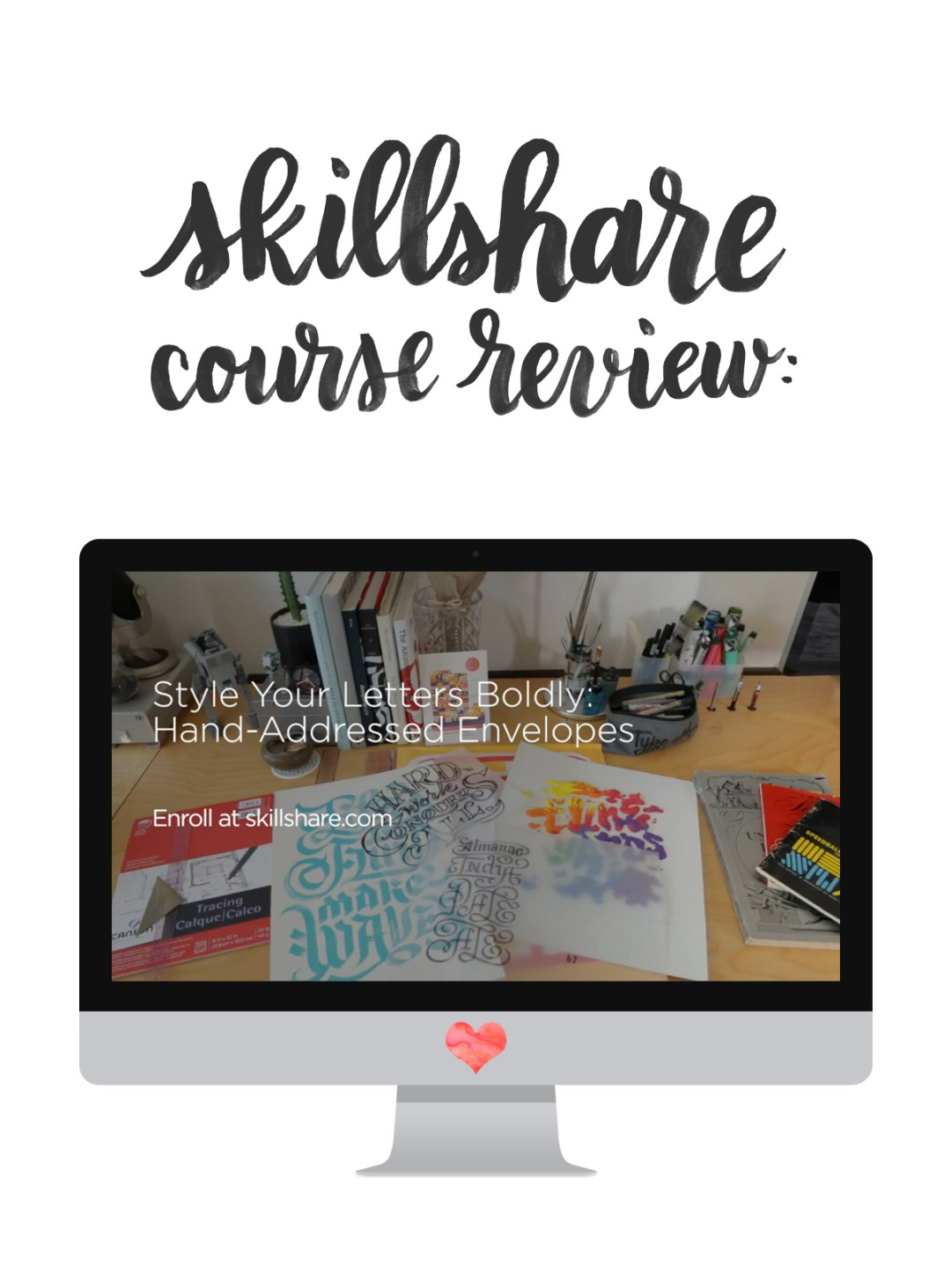 00-skillshare review-hand-address-envelopes