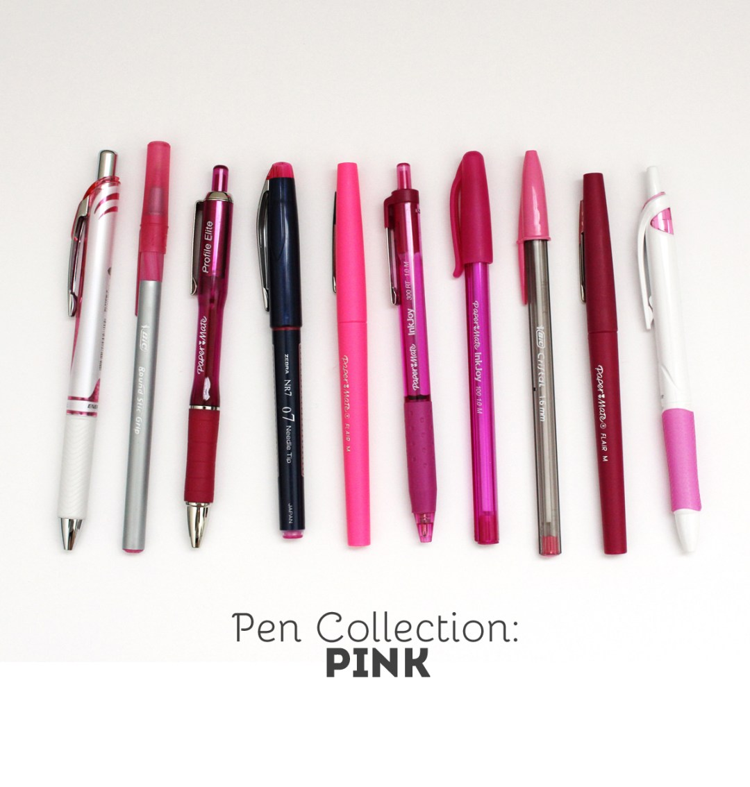 Pen Collection and Swatches - www.randomolive.com