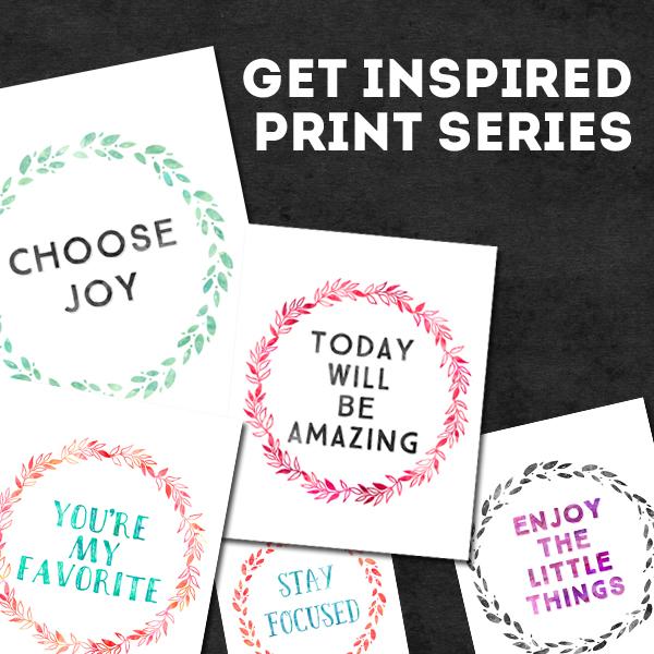 Get Inspired Print Series - www.randomolive.com