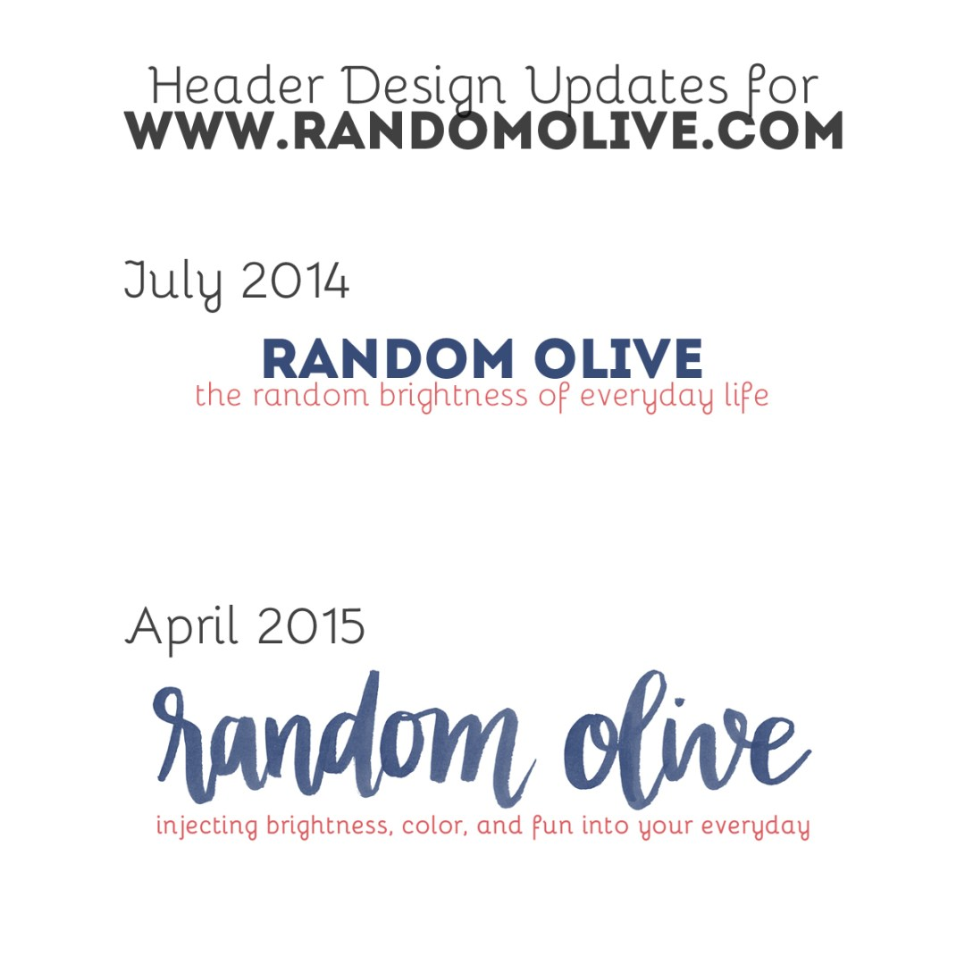 Before and After: RandomOlive.com