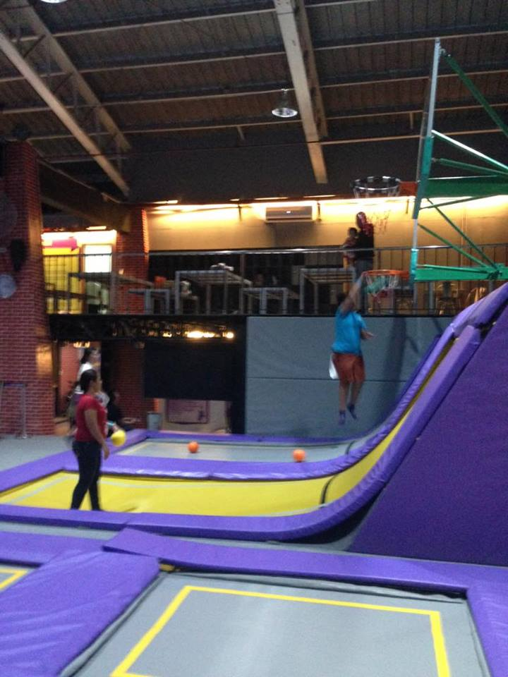 Defying Gravity At The First Trampoline Park In Manila