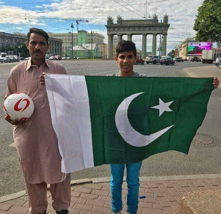 Ahmed Raza Boy from Sialkot to FIFA World Cup Story