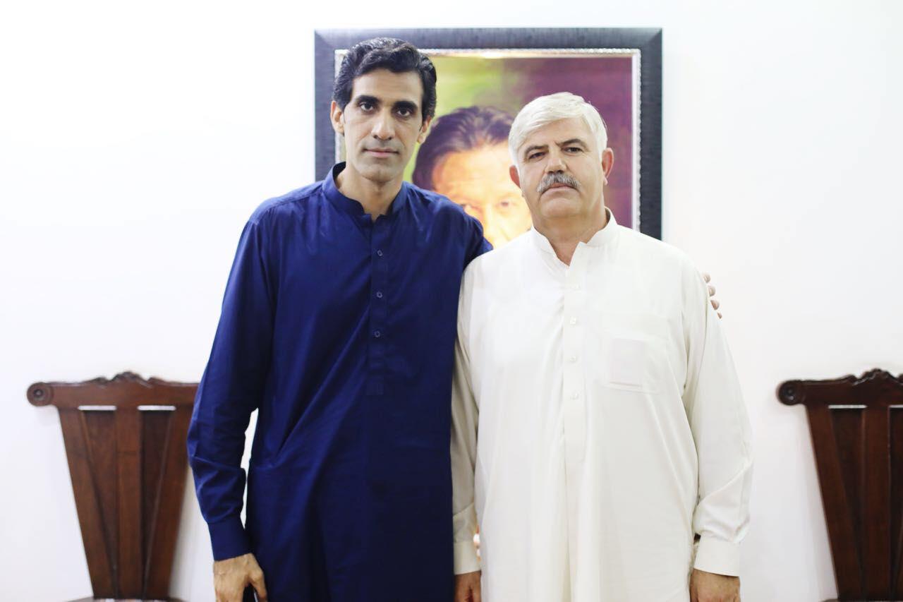 وزیر اعلی خیبر پیختونخوا محمود خان