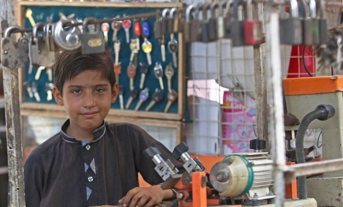 Story of Young Boy from Pakistan