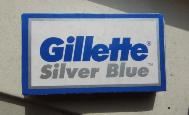 Gillette Silver Blue razor blades - one of the smoothest and sharpest on the market!