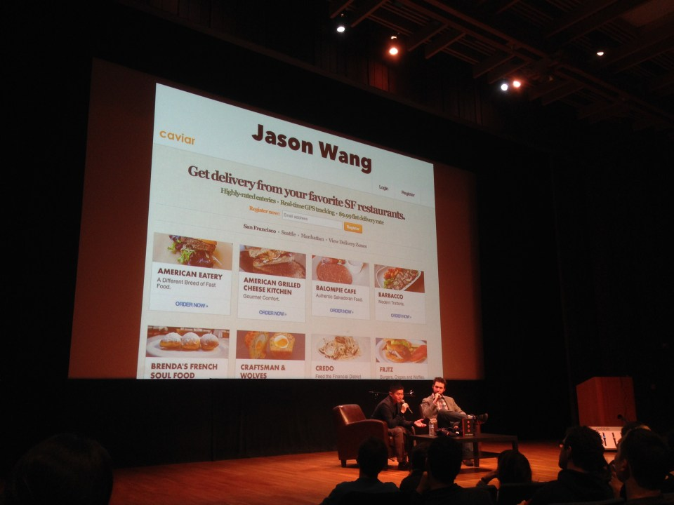 Jason Wang talks about his experience with Munch on Me and Caviar
