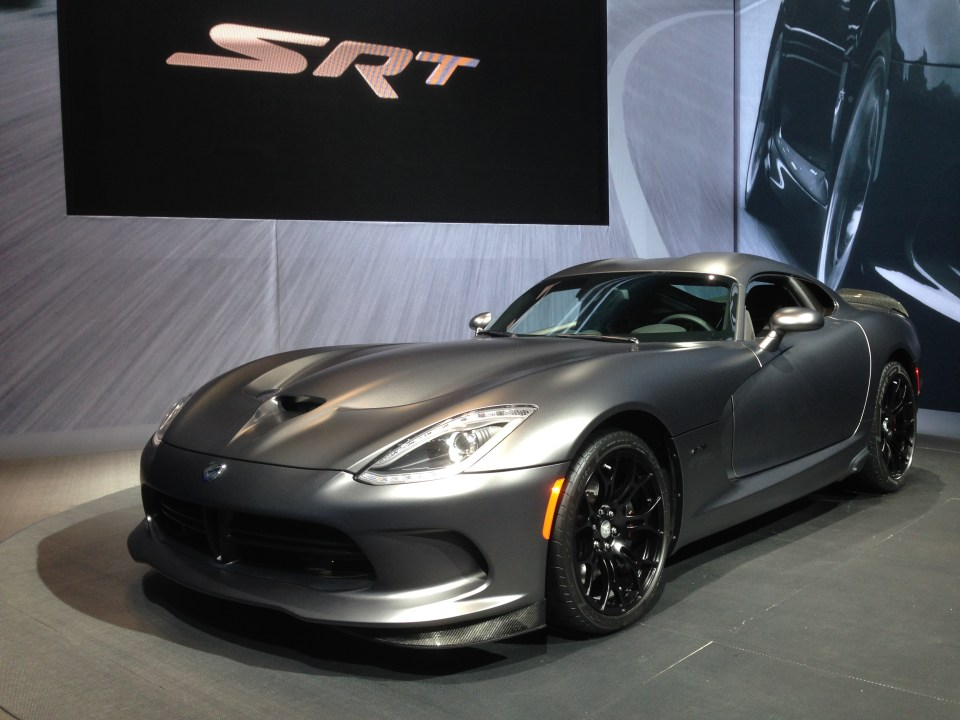 2014 SRT Viper GTS Anodized Carbon Special Edition at New York International Auto Show