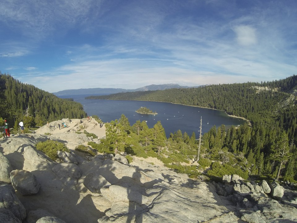 Highest point overlooking Emerald Bay