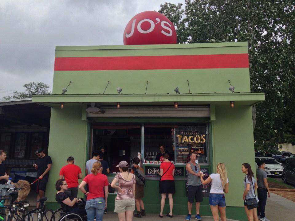 Jo's Coffee in Austin, Texas