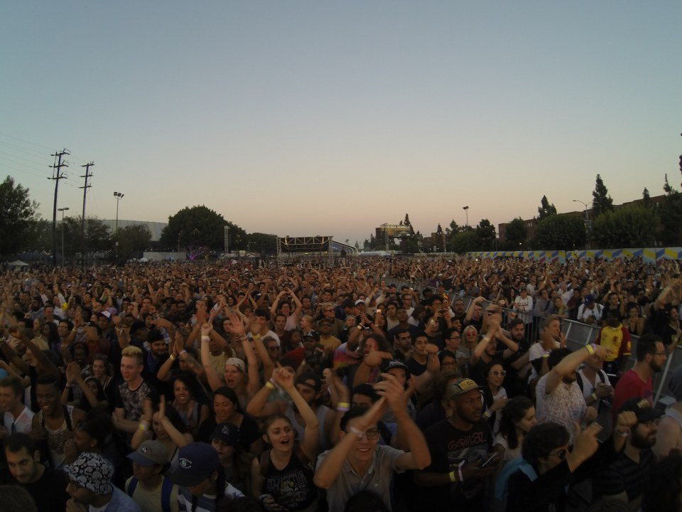 Crowd at Run The Jewels at FYF 2015