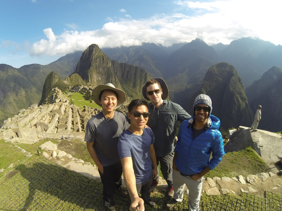 Inca Boyz at Machu Picchu