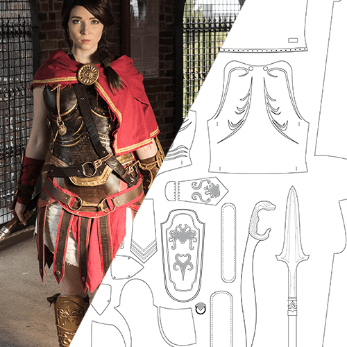 Kassandra Cosplay Blueprint Randomtuesday