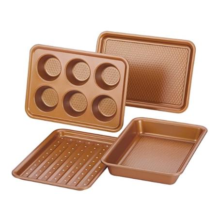 copper kitchen baking set
