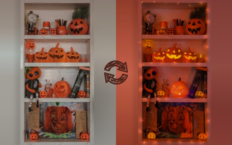 My Little Halloween Corner
