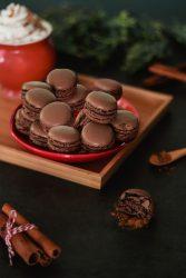 double chocolate macarons recipe
