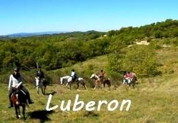 Randonnées équestres LUBERON